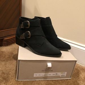 Urban Outfitters Talia Buckle Bootie